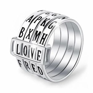Jewelry - 💍 Letter Combination Lock Ring